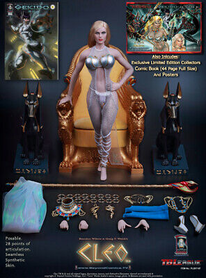 PL2017-87 TBLeague Phicen Ice Loves Coco As Cleo in Comic Book Gekido 1/6