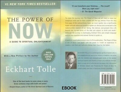 The Power of Now:A Guide to Spiritual Enlightenment Eckhart Tolle PDF