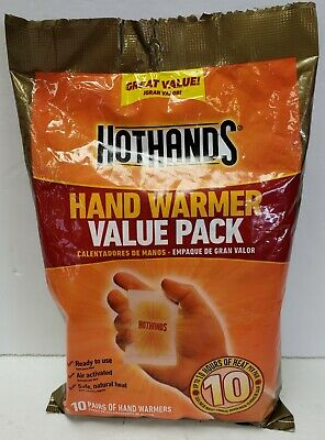 Hot Hands Value Pack 10 Pack Hand Warmer