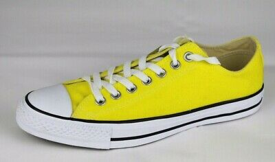 d24024b7b52a Converse all star unisex yellow low top sneakers size men s 8.5 women s 10.5