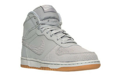 d9d8ced1137 MEN S NIKE BIG NIKE HIGH LUX Basketball Shoes Wolf Grey 854165 002 ...