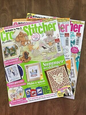 5-Britains #1 Cross Stitcher Magazines/#174,175,176,177,179