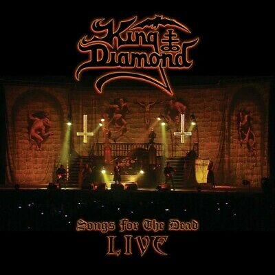 Songs For The Dead Live - 3 DISC SET - King Diamond (CD New)