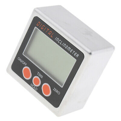 Alloy Electronic Angle Cube Digital Level Box Inclinometer Gauge Bevel