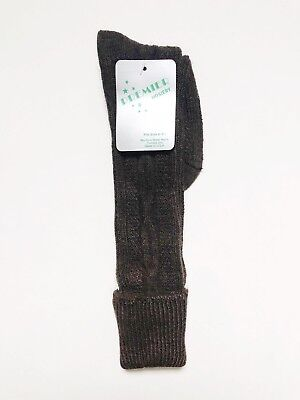 vintage NOS premier hosiery knee high socks womens size 8-9.5 75% orlon