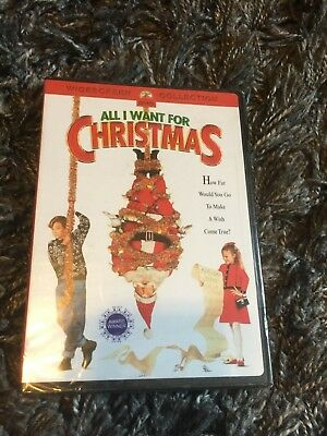 All I Want for Christmas (DVD, 2004, Widescreen Collection) New & Sealed