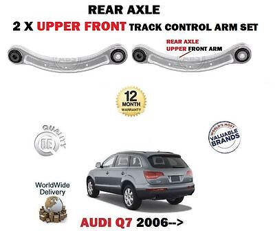 For Audi Q7 4L 2006-> 2 X Rear Axle Upper Front Track Control Arms Set