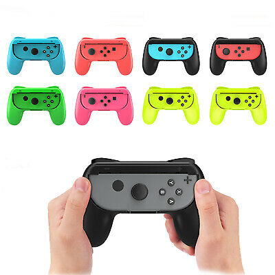 2-Pack For Nintendo Switch Joy-Con Grips Kit Controller Handle Handheld Holder