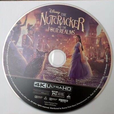 Nutcracker and The Four Realms (4K Ultra HD Blu-ray, 2019) 4K Disc Only