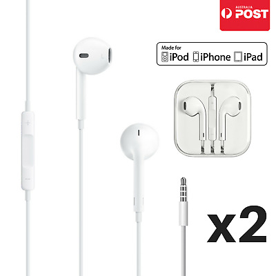 Earphones Earbuds Headphones For Apple iPhone 4 5 6 iPad Headset remote with mic