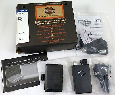 HARLEY DAVIDSON OEM Touring Security System Pager Kit 91665-03 NOS NEW NIB