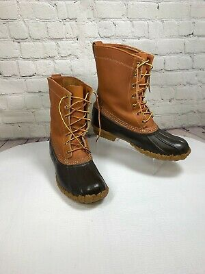LL BEAN Gore Tex Thinsulate Boots Mens Maine Hunting Shoe
