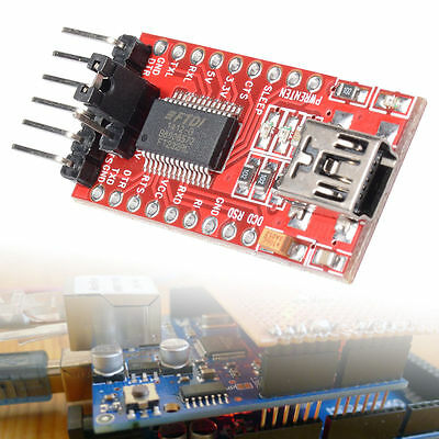 FT232RL 3.3V 5.5V FTDI USB to TTL Serial Adapter Módulo Arduino Mini Port TE203
