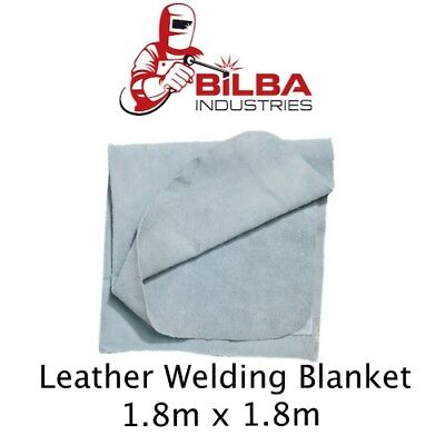 Leather Welding Blanket - 1.8m x 1.8m Heavy Duty
