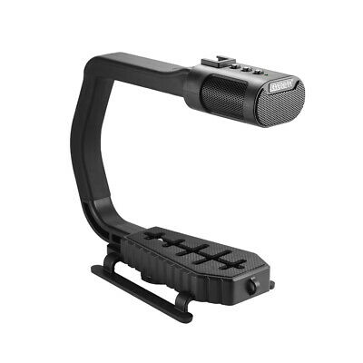 Sevenoak MicRig Video Handle Grip with Stereo Microphone for DSLR Camera LF857