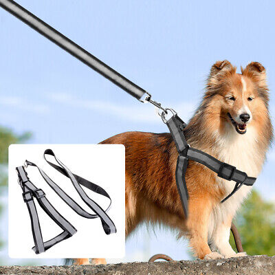No Pull Strong Dog Pet Collar Harness Lead Leash Splitter Coupler w/ Clip PS222