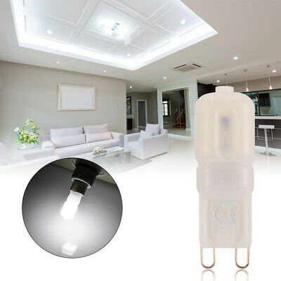 6pcs G9 5W LED Dimmable Capsule Bombilla Bulb Halogen Bulbo Blanco frío LD1113
