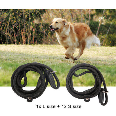 L+S Strong Nylon Slip On Rope Dog Puppy Pet Lead Leash -No Collar Needed PS204