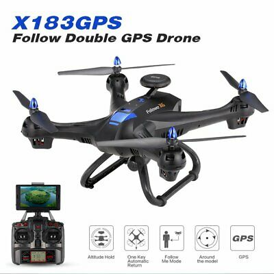 Drone 6-axes X183 With 2MP WiFi  HD Camera GPS Brushless Quadcopter  AG