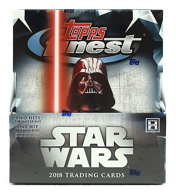 Star Wars Trading Cards box: 2018 Topps Finest Star Wars Hobby Box BRAND NEW