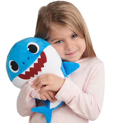 Baby Shark Singing Plush Stuffed Toy Daddy Sharks Song Youtube Kids Cuddle Toys