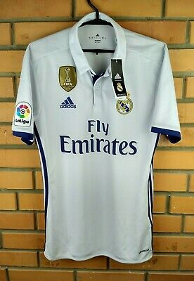 dc45b447a1be6 Real Madrid jersey small 2016 2017 home shirt S94992 soccer football Adidas