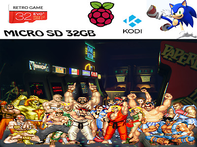 Retro Game - Micro Sd 32Gb Retropie