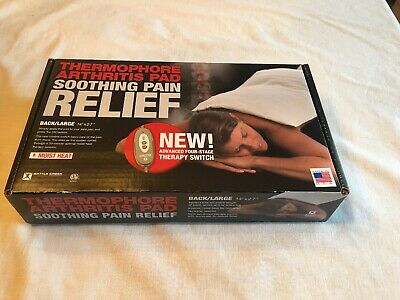 "Battle Creek Equipment Thermophore Moist Heating Pad Blanket 155 Large 14"" x 27"""