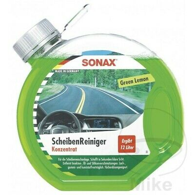 Sonax Windscreen Cleaner Concentrate Green Lemon 3L 3864000