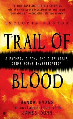 Trail of Blood (Berkley True Crime) by Dunn, James Book The Cheap Fast Free Post