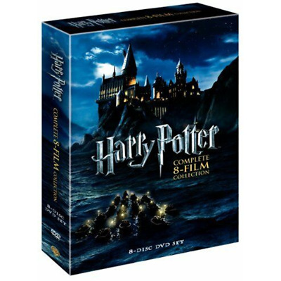 HARRY P0TTER : Complete 8-Film Collection (DVD, 2011, 8-Disc Set) FREE SHIPPING