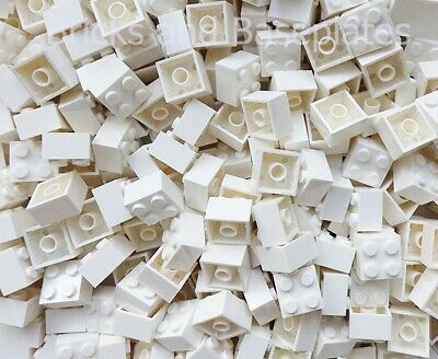 LEGO BRICKS 200 x WHITE 2x2 Pin  From Brand New Sets Sent In a Sealed Bag