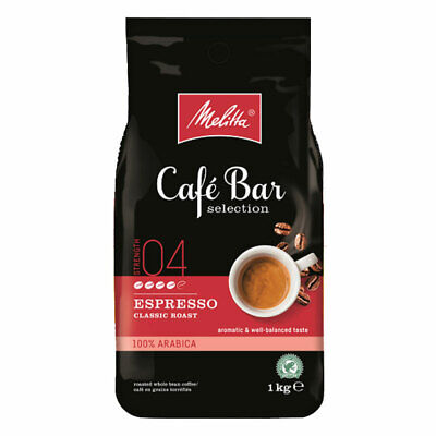 Melitta Cafe Bar Selection Espresso Classic Roast Coffee Beans 1kg
