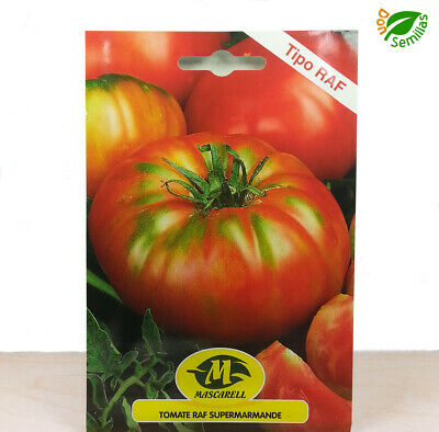 Tomate Super Marmande RAF ( 0,75 gr / 200 semillas ) seeds - supermarmande