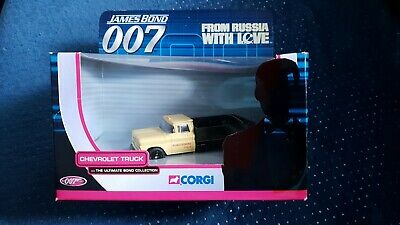 Corgi Ultimate James Bond 007 Chevrolet Truck FROM RUSSIA WITH LOVE NEUF/NEW