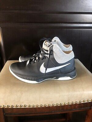 more photos 4a0b9 52fcc Nike Air Visi Pro 6 Mid-Top Basketball Shoes Men s Size 8 Black white