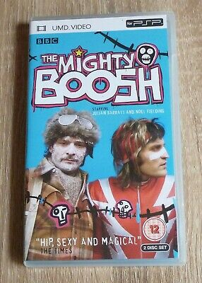 THE MIGHTY BOOSH Complete First Series 2 Disc UMD for PSP Free UK Postage