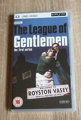 THE LEAGUE OF GENTLEMEN First Series 2 Disc UMD for PSP Free UK Postage