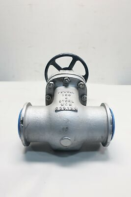 Powell 1503WE Manual 150 Steel Butt Weld 4in Wedge Gate Valve