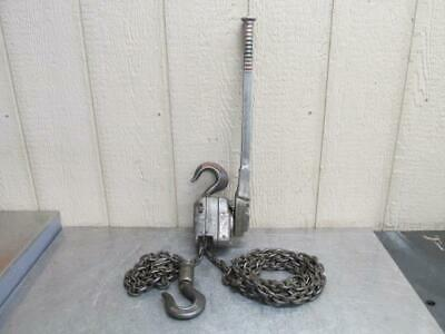 Yale Pul-Lift Manual Lever Chain Hoist 3/4 Ton 15' Ft. Lift Come Along Puller