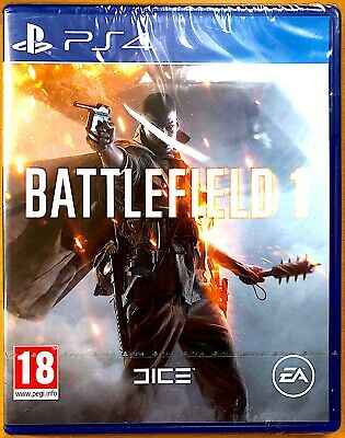 Battlefield 1 - Playstation PS4 Games - Brand New & Sealed
