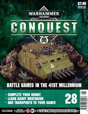Warhammer Conquest 28 with Part 2 of Chaos Rhino