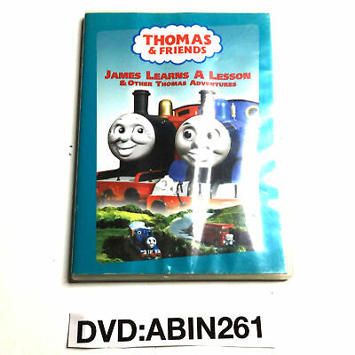 Thomas and Friends James Learns a Lesson and Other Thomas Adventures DVD