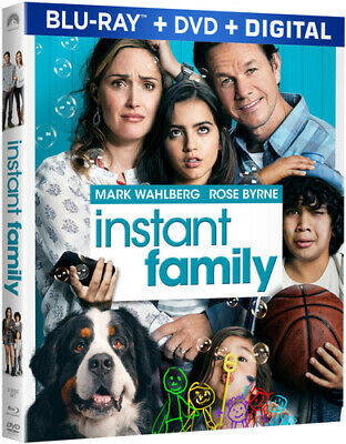 Instant Family [New Blu-ray] With DVD, Digital Copy