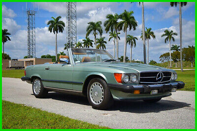 1989 Mercedes-Benz 500-Series 2 Dr Convertible 1989 2 Dr Convertible Used 5.6L V8 16V Automatic RWD