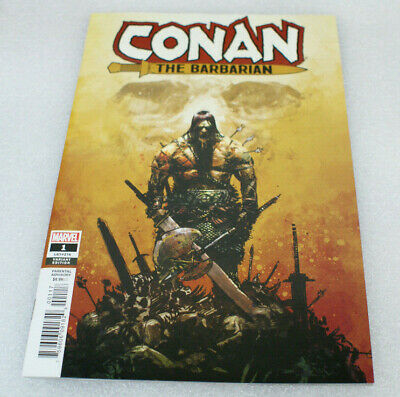 Conan The Barbarian #1 Gerardo Zaffino 1:25 Variant Vf/nm Marvel 2019