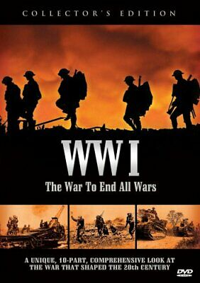 WWI THE WAR TO END ALL WARS New 3 DVD World War I