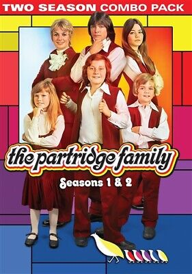 THE PARTRIDGE FAMILY SEASONS 1 & 2 New Sealed 4 DVD Set
