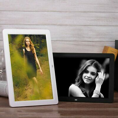 Digital Picture Frame With Wireless Remote 12 Inch Screen Built-in Speaker CL