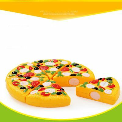 Simulate Cutting Pizza Toy Kitchen Role Pretend Toy Kids Educational Toy WQ